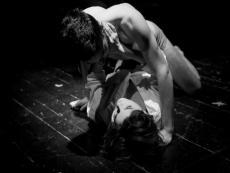 Predstava Bolest smrti Saše Božića u Teatru Lero